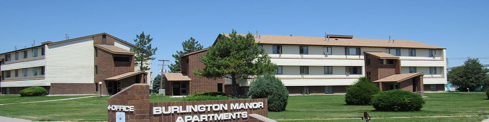 Burlington apartments header
